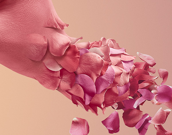 Woman-Arm-With-Flower-Petals_1