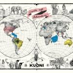 Cele șapte chakre și poziționarea lor pe Pământ