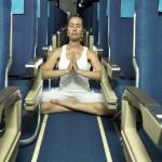 Rolul meditației în avion. Iată cum să faci asta!