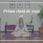 La ce să te aștepți în prima ședință de yoga